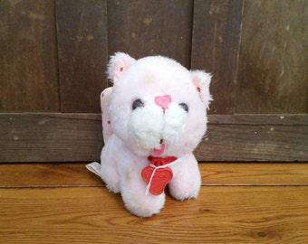 Vintage Stuffed Custard the Cat Kenner 1980 Strawberry Shortcake