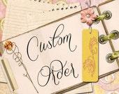 Custom order Pen Roll