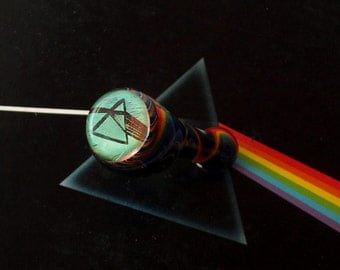 Custom Pink Floyd  DSOTM Glass Artwork