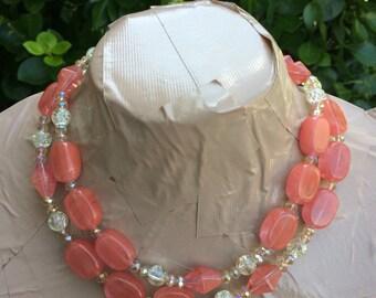ROSADA long pink quartz necklace