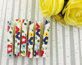 Garden Party Magnetic Clothespins Set