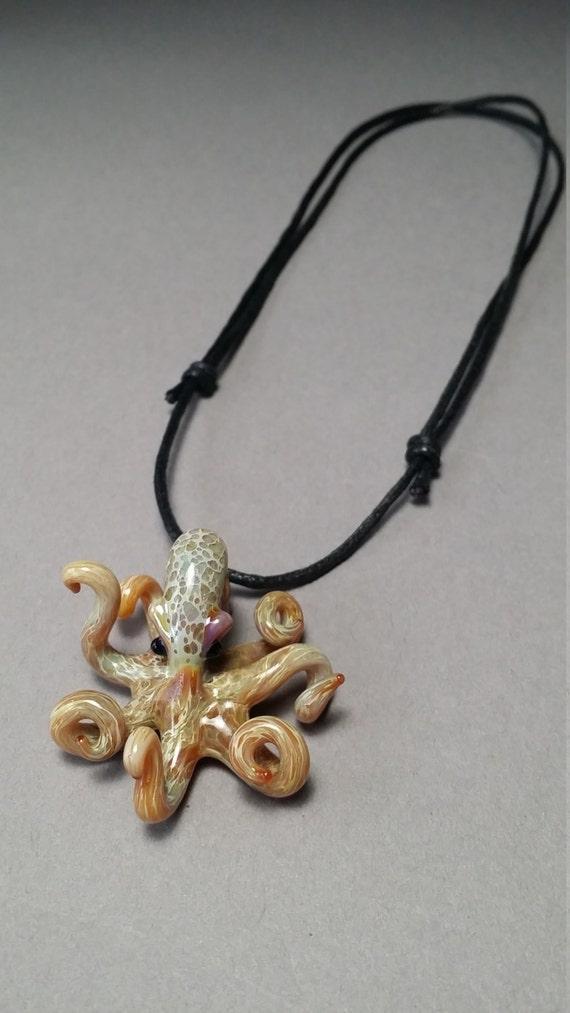 Octopus Jewelry Focal Bead Pendant