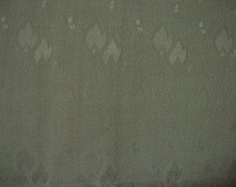 Vintage nagajuban S195, pear green silk