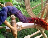 Sunset Hand Dyed Gradient Merino Wool Roving 4.24 oz