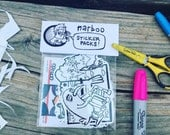 narboo sticker pack!