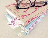 Set of 10 letterpress bookmarks