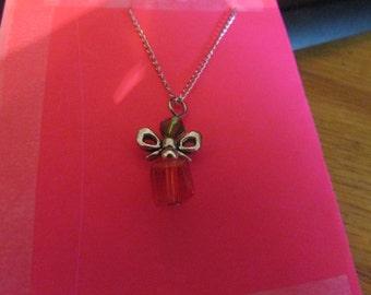 Bead glass gift box