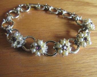 tiny pearl bracelet