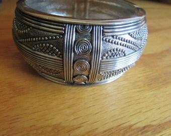 wide gypsy bracelet