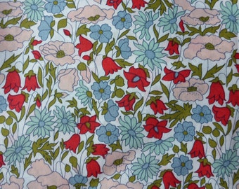 Liberty Fabric tana lawn Poppy & Daisy  New Colour  Fat Quarter fq Libertu tissu