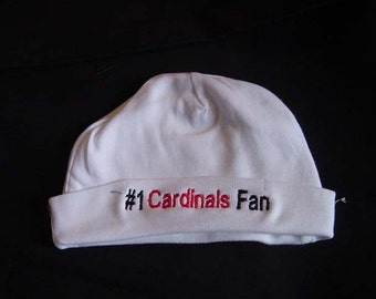 Arizona Cardinals  Football Baby Infant Newborn Hat