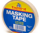 Masking tape. 3/4 inch x 60 yards per package scrapbook supplies quantity one artist tape