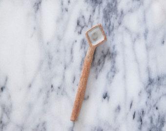 LBM ceramic spoon