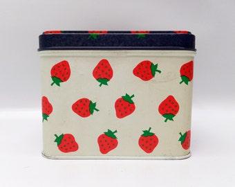 Sweetest strawberry tea tin