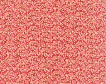 "End of Bolt - 30"" Left * Little Ruby Floral Rosie Red 55138 11 Yardage by Bonnie and Camille for Moda"