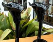 Vintage Calla Lily Vase, F & F Japan, Fitz and Floyd Vase, Flower Vase, Bud Vase, Home Decor, Decorative Vase, Vanity Decor, Made in Japan