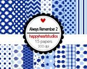 DigitalScrapbook AlwaysRemember2 -INSTANT DOWNLOAD