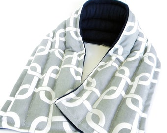 Heating Pad Neck Warmer, Long Wide Neck Wrap, Men's Gift for Him, Body heat pack, rice pack
