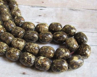 25% Off SALE Natural  Baltic Amber Barrel Beads, 13mm x 16mm,  Millions Of Years Old Beads Calibrated