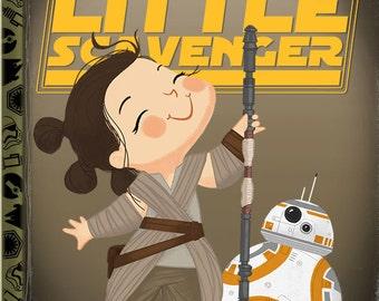 The Little Scavenger - 8x10 PRINT