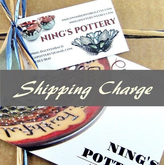 Shipping charge for order  #1118701390