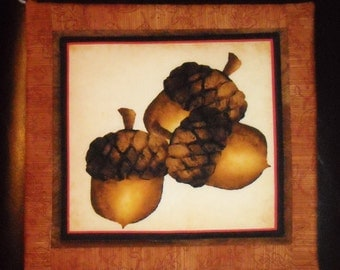 Acorn Pot Holder/Trivet