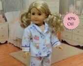 Pajamas for American Girl - Gingham Garden **Sale**