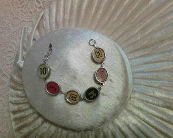 Vintage Cash Register Bracelet