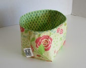 fabric storage bin mini bucket