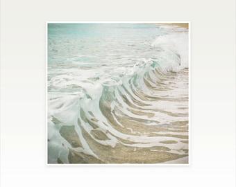 CLEARANCE SALE! Oean Art, Beach House Decor - Sea Foam