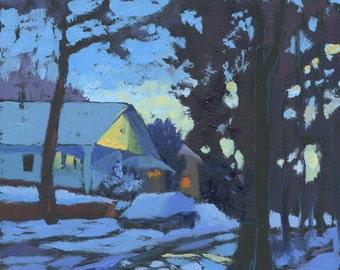 Slant of Light painting