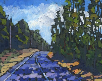 On the Road painting