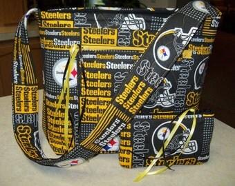 Steeler Steelers Tote bag Purse Shoulder Strap