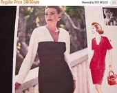 SALE 25% Off 1990s Vogue Sewing Pattern Womens Jacket, Straight Skirt, Bust 34 36 38 Uncut FF Suit Dress, Vogue Designer Patterns