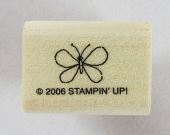 Stampin Up! - Butterfly Rubber Stamp #RS154