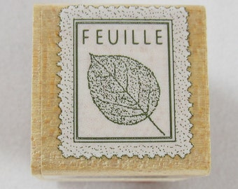Hero Arts - Feuille Rubber Stamp #RS179