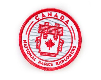 Canada National Park Explorer's Patch