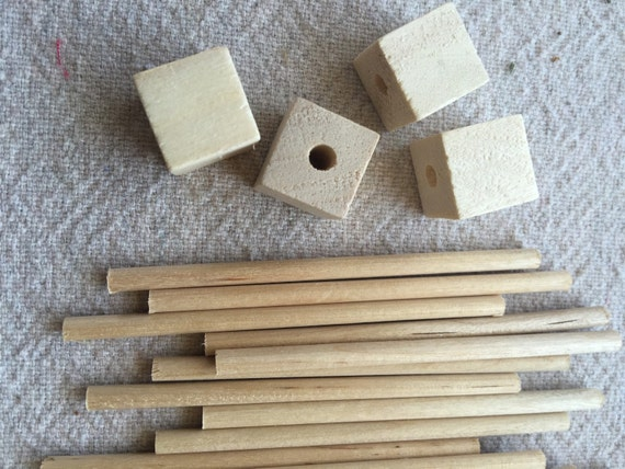 Mannequin Dowel and base