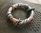 Mokume Gane Polymer Bracelet