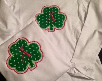 Shamrock Initial Shirt
