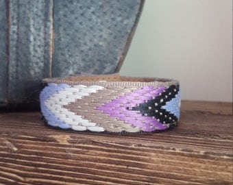 Customize your own Up-Cycled Cuff Bracelet -QUOTE