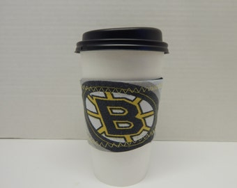 Reusable Up Cycled Drink Wrap NHL Bruins