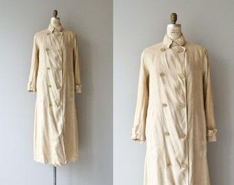 McCreery & Co. Edwardian duster coat | 1910s linen coat | Edwardian long coat