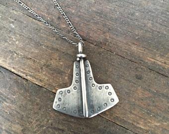 Thor's Hammer Thunder Necklace