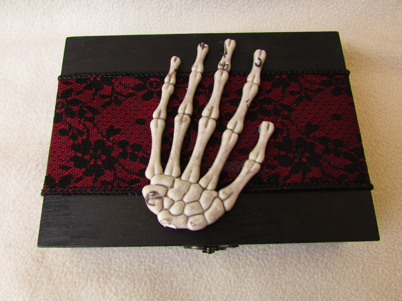 CIJ SALE Gothic Elegant Halloween Wedding Ring By