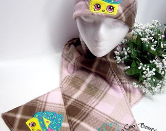 Shop Cup Cake Fleece Beanie and Scarf