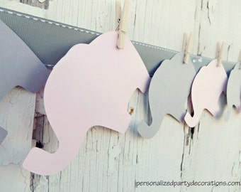 Baby Shower Decorations, Elephant Baby Shower Decorations, Baby Shower Décor, Elephant Baby Shower ADVICE CARDS, You Choose The Colors