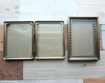 Two Small Vintage Frames
