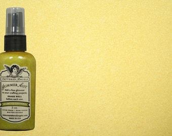 Tattered Angels Glimmer Mist- Lemongrass (Yellow)