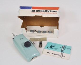 Griest Buttonholer Model #7 for High Bar Left Needle Position Zig Zag Machines